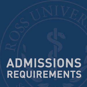 "Graphic text of ""Admissions Requirements"""