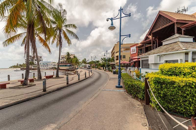 Street in Barbados
