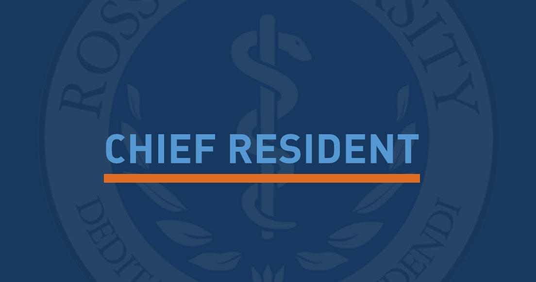 Chief Resident Banner
