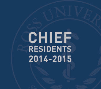 "Graphic text of ""Chief residents 2014-2015"""