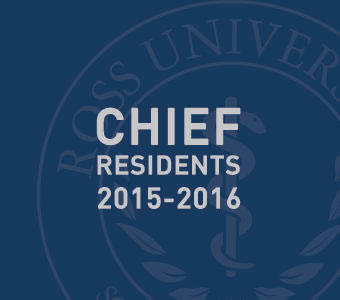 "Graphic text of ""Chief residents 2015-2016"""