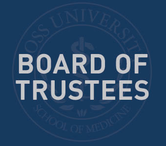 "Graphic text of ""Board of Trustees"""