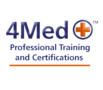 "Graphic text of ""4Med Professional Training and Certifications"""