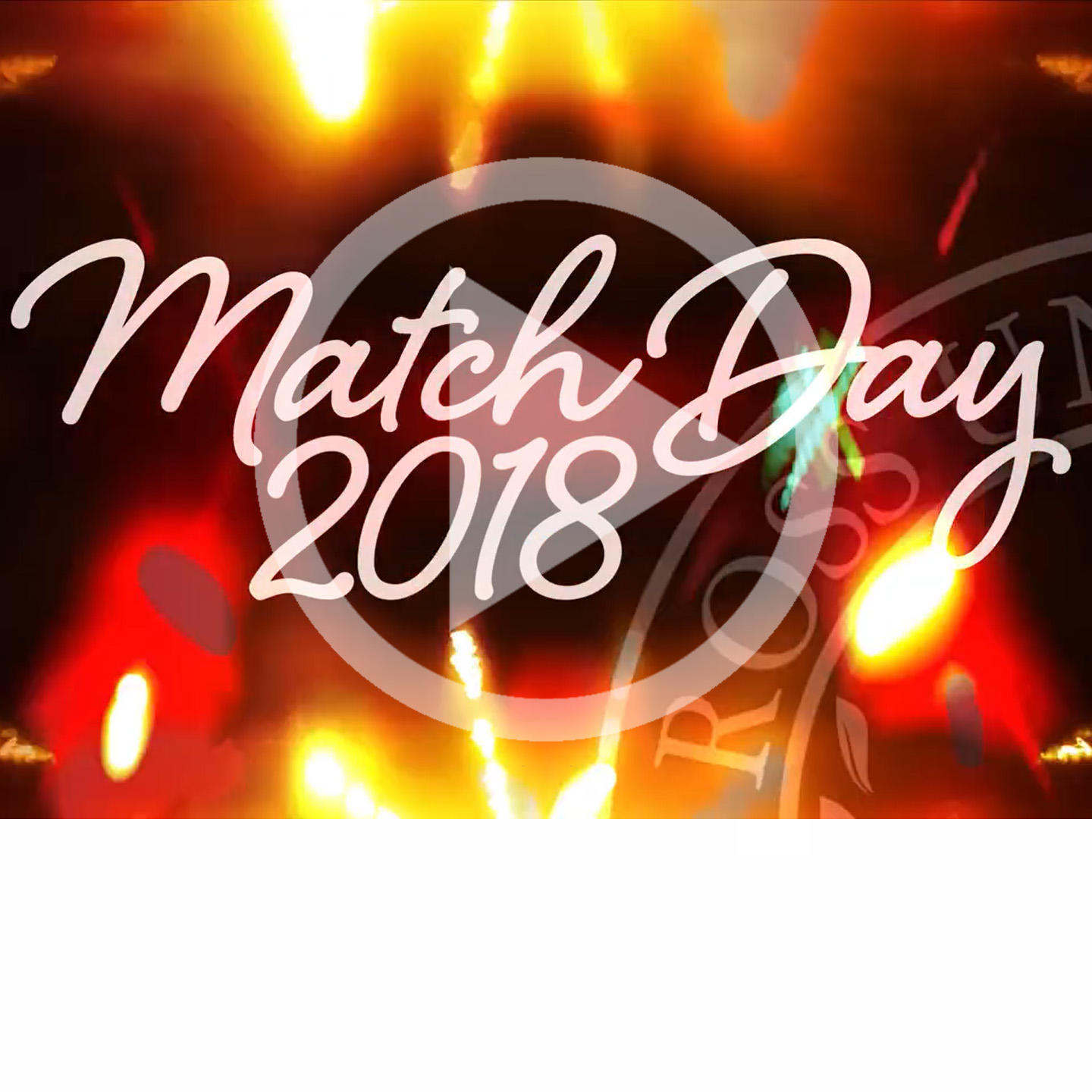 "Graphic text of ""Match Day 2018"""