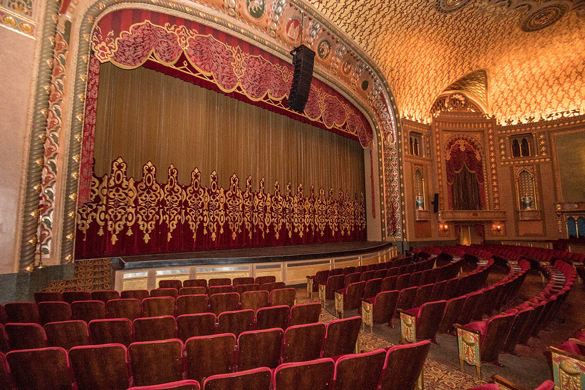 Inside view of theatre