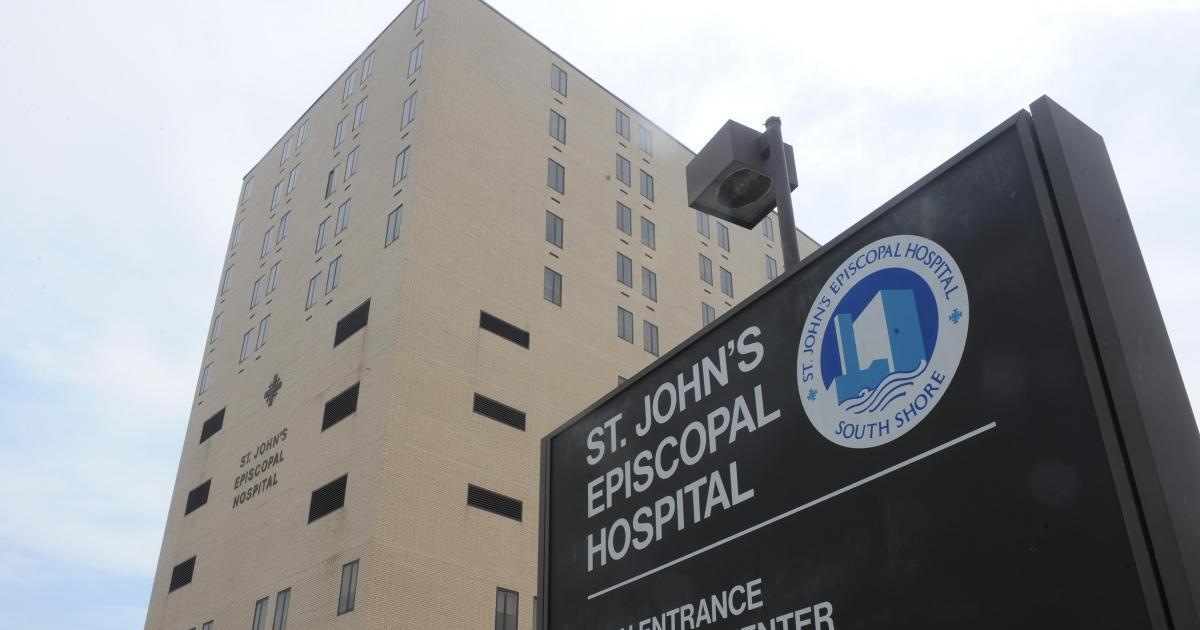 Outside view of St. John's Episcopal Hospital